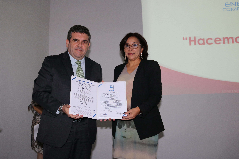 Juan Felipe Mora y Eliana Garzón